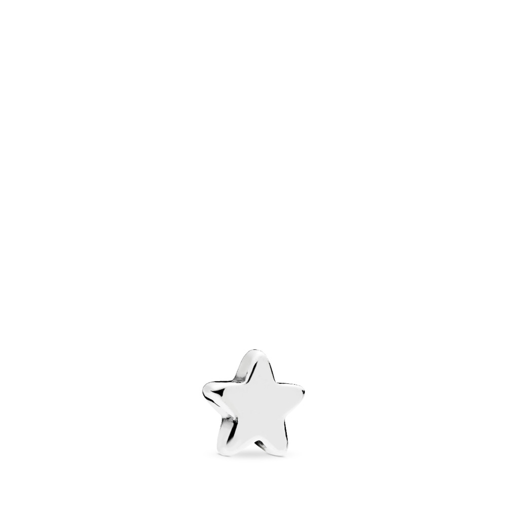 Shining Star Petite Locket Charm, Sterling silver - PANDORA - #796352