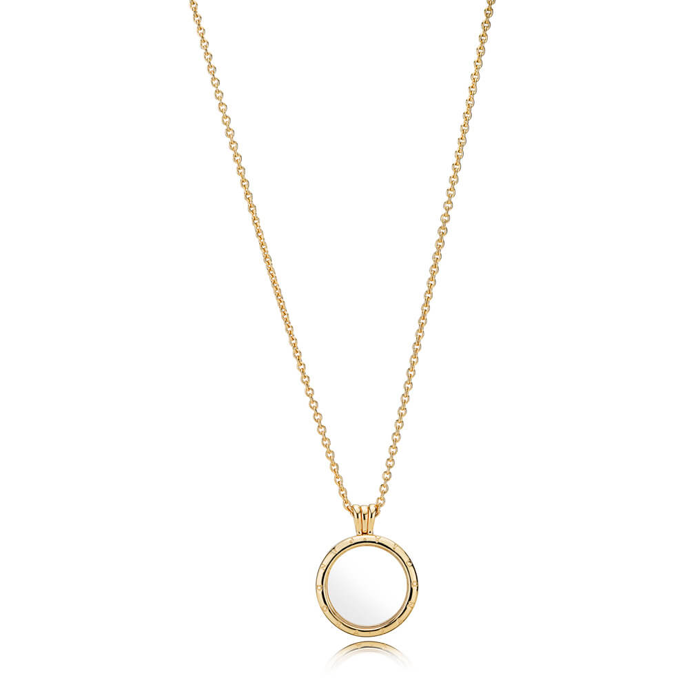 PANDORA Floating Locket Necklace, PANDORA Shine™
