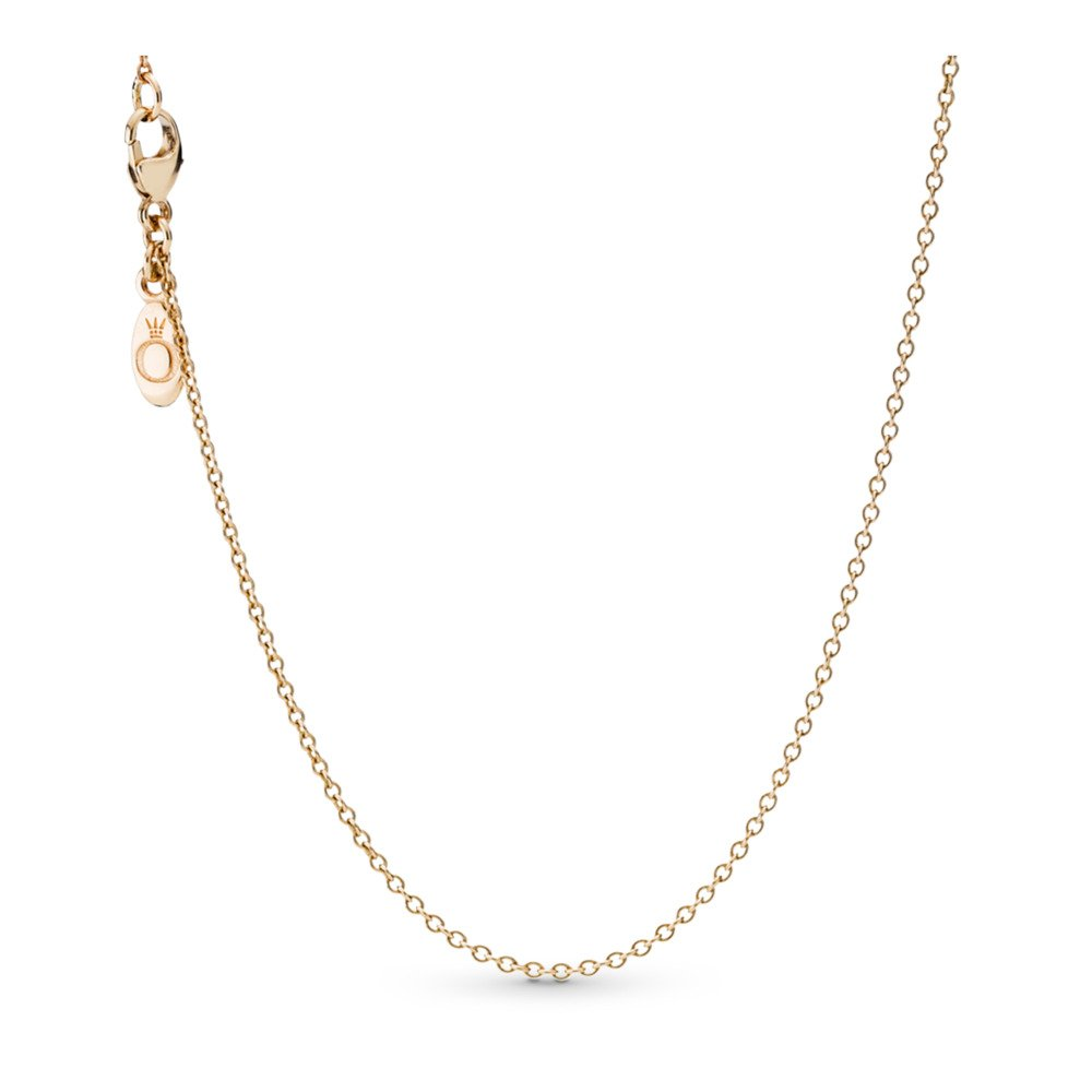 Necklace Chain, 14K Gold, Yellow Gold 14 k - PANDORA - #550331