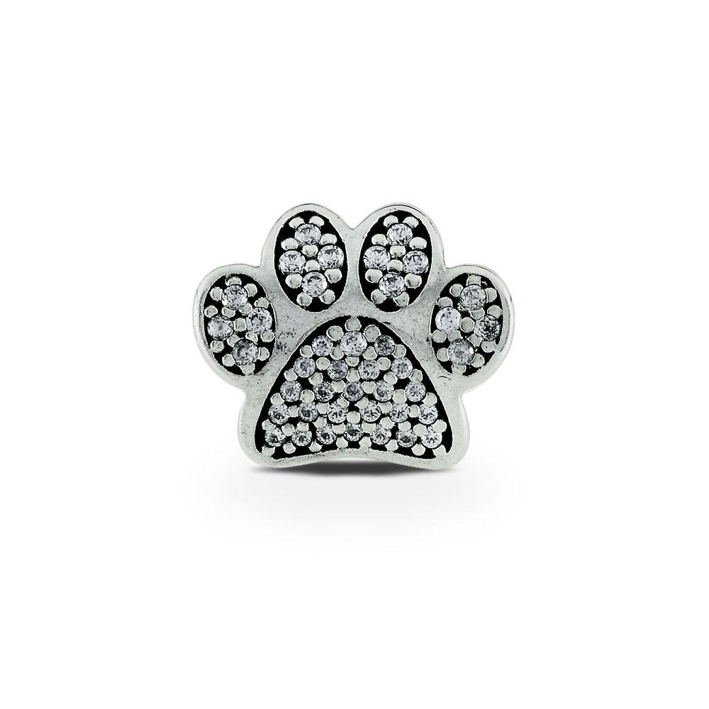 pandora dog paw charm