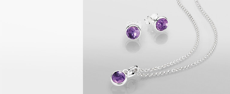 February Birthstone Jewelry And Gifts Pandora Jewelry Us