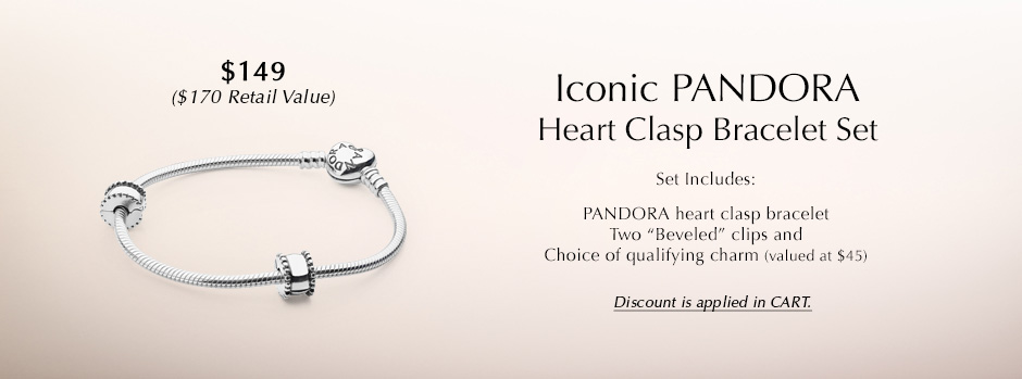 Build A Set - Heart Silver Iconic Gift Set