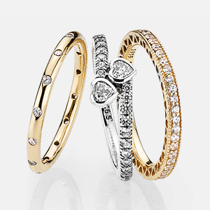 A Sparkling Ring. Shop Rings.