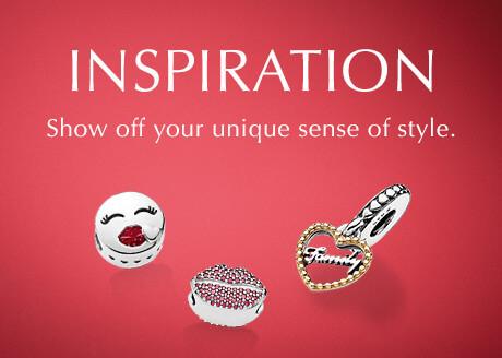 Inspiration. Show off your unique sense of style.
