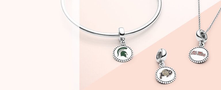 Collegiate Charms Collection Pandora Jewelry Us