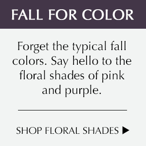 Forget Fall Colors. Shop Floral Shades.