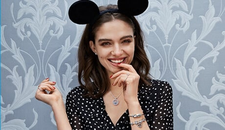 Enchanting Styles - model with Mickey Mouse ears