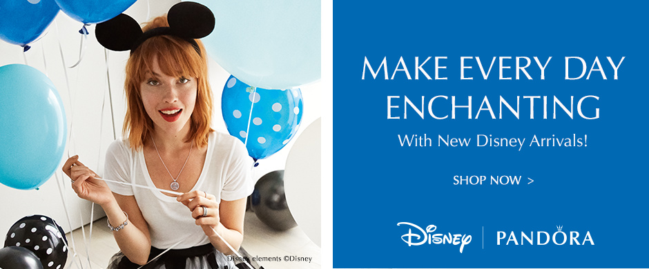 Make Every Day Enchanting with new Disney Arrivals! Shop Now. Disney | Pandora