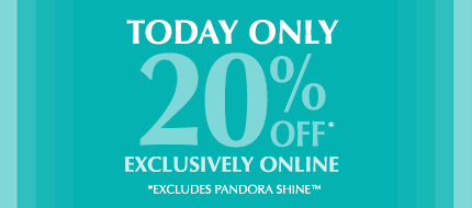 Today Only! 20% Off Exclusively Online. Ends midnight PST.